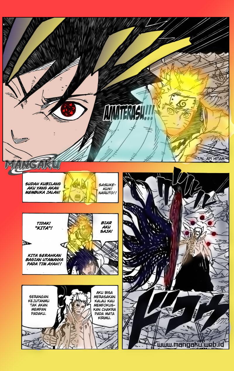 Komik Naruto Berwarna - 641 - Kalian Adalah Bintang