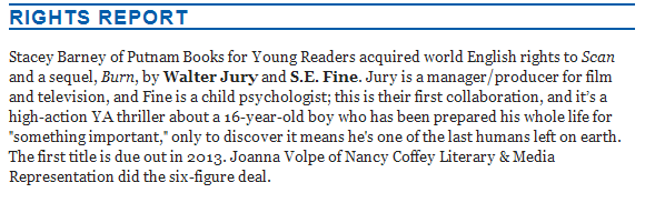 Last Night This Came Out In The Publishers Weekly Childrens Bookshelf Newsletter