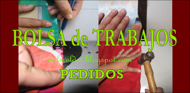 BOLSA DE TRABAJOS DE MARROQUINERÍA - PEDIDOS