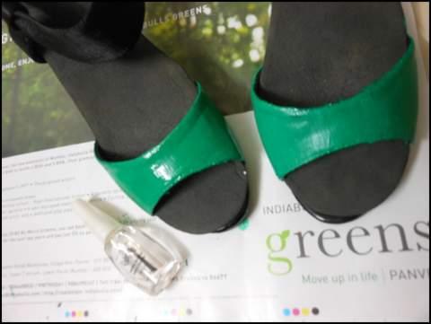 Super shiny stuff emerald green shoes tutorial - How to mix emerald green paint ...