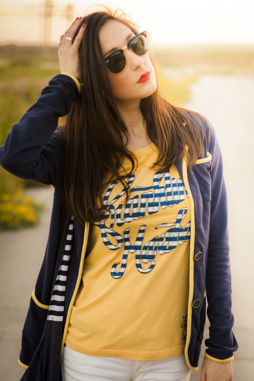 Franklyn&Marshall Yellow and Blue, tendencias Amarillo