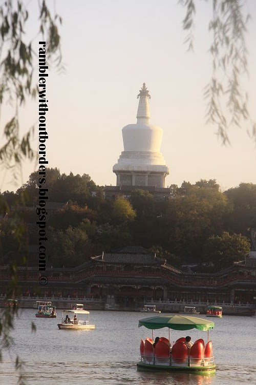White Pagoda, Beihai Park, Beijing, China