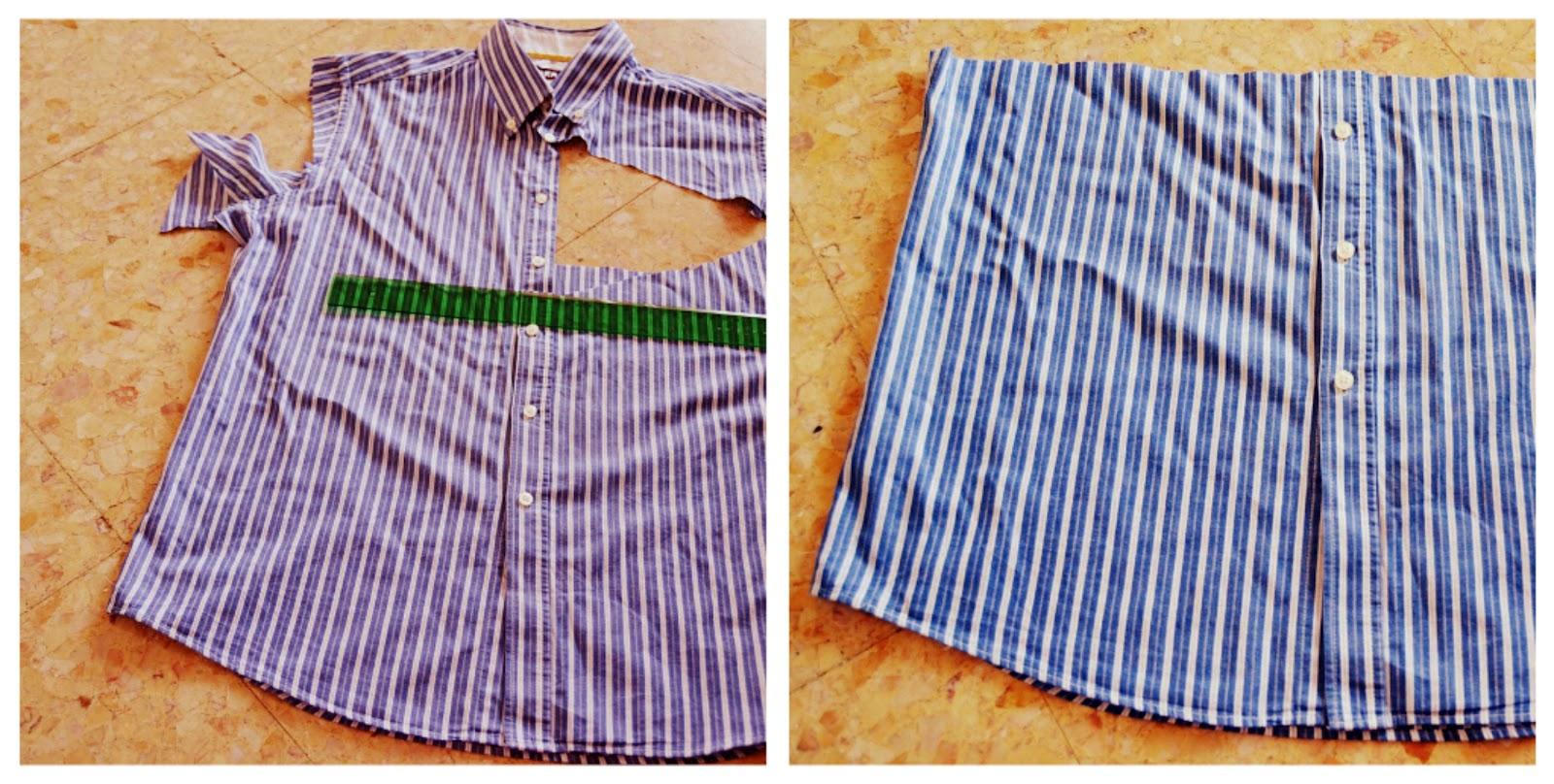 Поделки из мужских рубашек фото