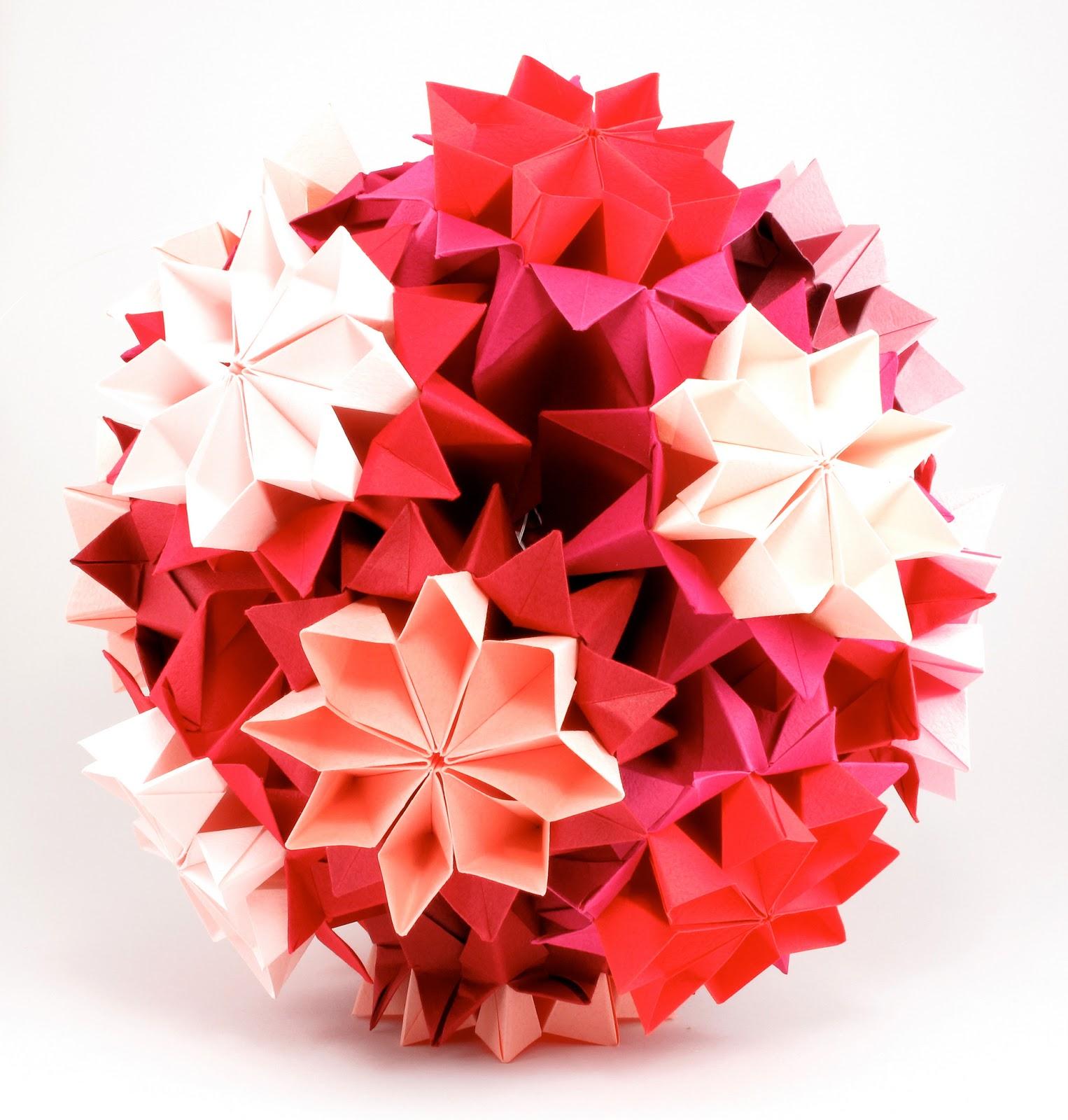 Объемный оригами своими руками 956