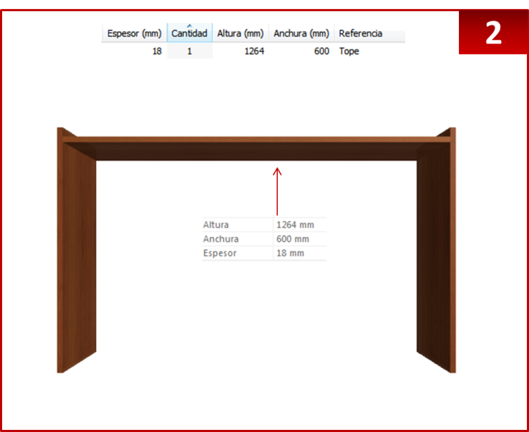 Dise o de muebles madera crear escritorio con repisas for Diseno de planos de construccion