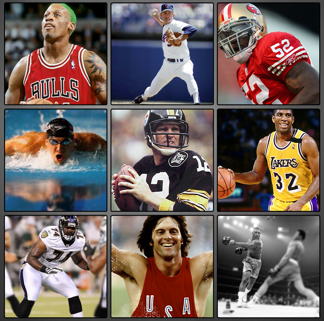Best Sports Photos Of 2012: Adolescent Sports Participation: The Athlete's Collage
