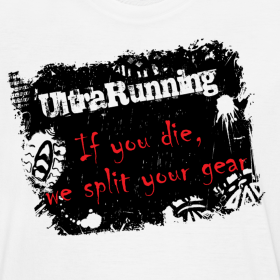 Ultrarunning - if you die, we split your gear