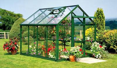 rumah kaca untuk tanaman