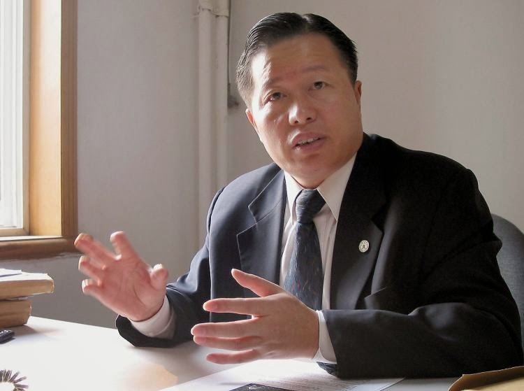 O advogado Gao Zhisheng é um dos vitimados:  defendeu direitos humanos