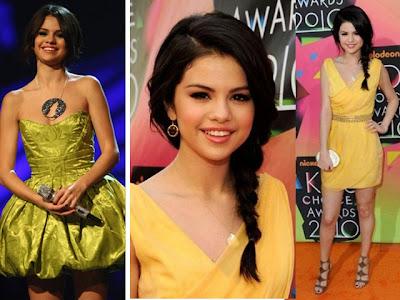 Amarelos de Selena Gomes