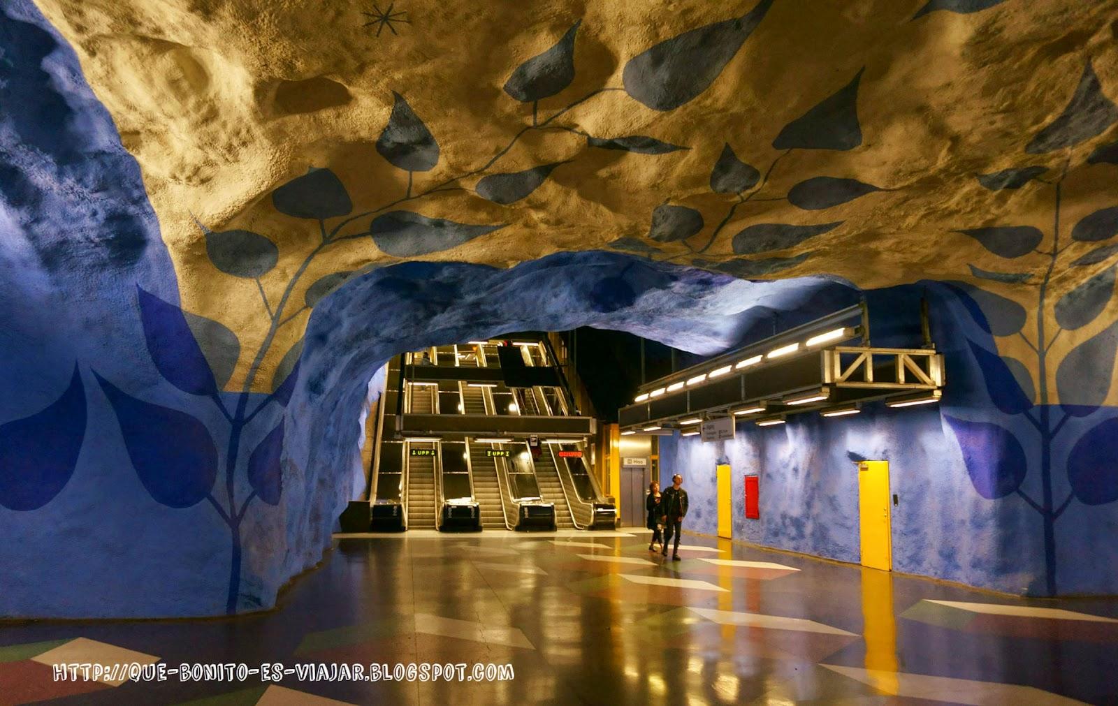 Visita al Metro de Estocolmo