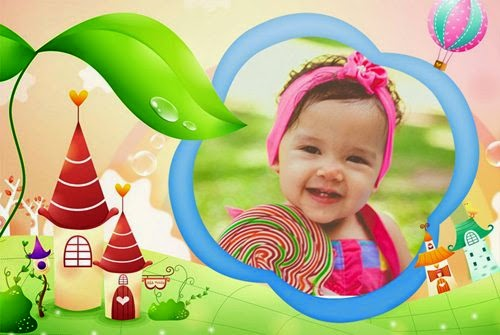 Montagem de fotos infantil