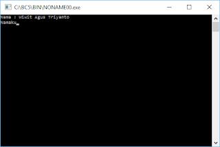 """Contoh Program C++: Menggunakan Perintah """"endl"""""""