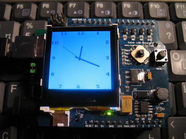 Arduino com relógio