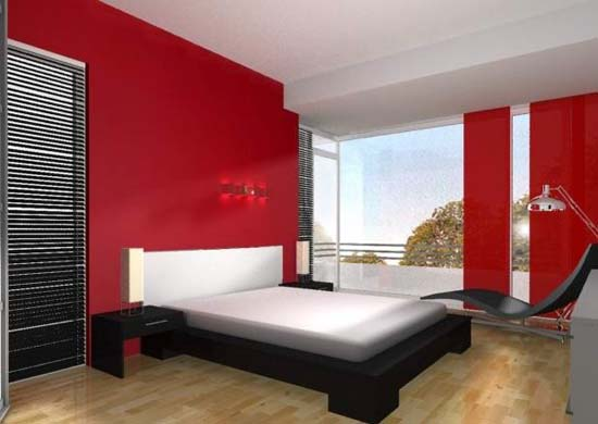 Home And Garden Design: Color Combinations For Bedroom Walls