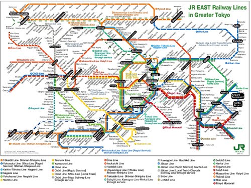 Map Of Tokyo City Pictures Map Of Japan Cities