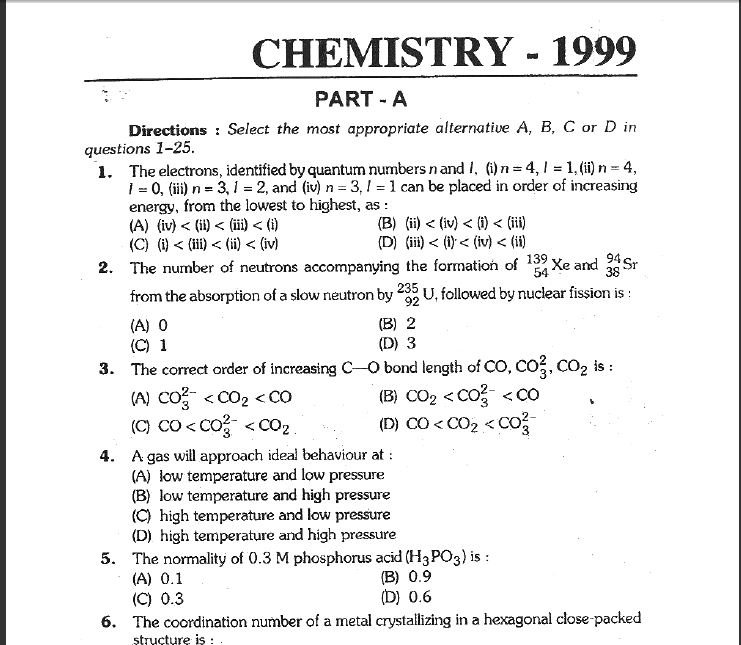 Essay on examination