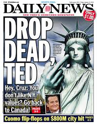 Daily News Drop Dead Ted