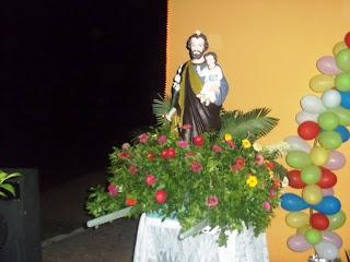 Imágens da abertura do tríduo festivo em honra a São José