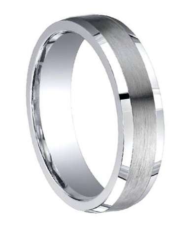 316L stainless steel wedding rings for men are tough, ...
