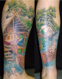 Leg Tattoos - Leg tattoo Ideas