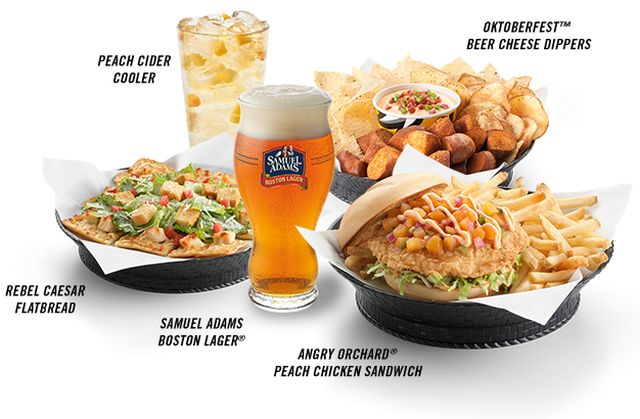 Buffalo Wild Wings has partnered with The Boston Beer Company (best ...