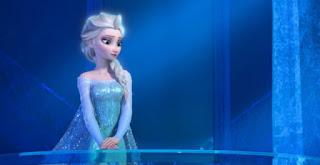 Foto Elsa Frozen galau