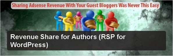 Revenue Share for Authors plugin for WordPress