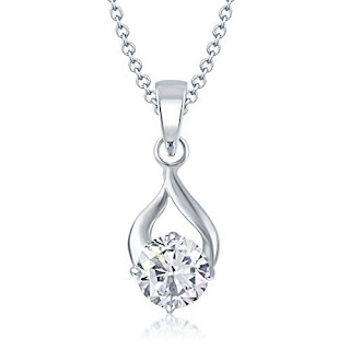 Amazon  : Buy Delicate Drop Solitaire Pendant for Women at Rs. 180 only