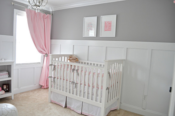 Sugar Fresh Ava S Sweet Gray And Pink Nursery