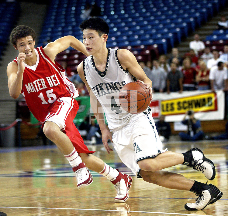 Jeremy Lin and the 2006 Jeremy Lin Dunk In Middle School