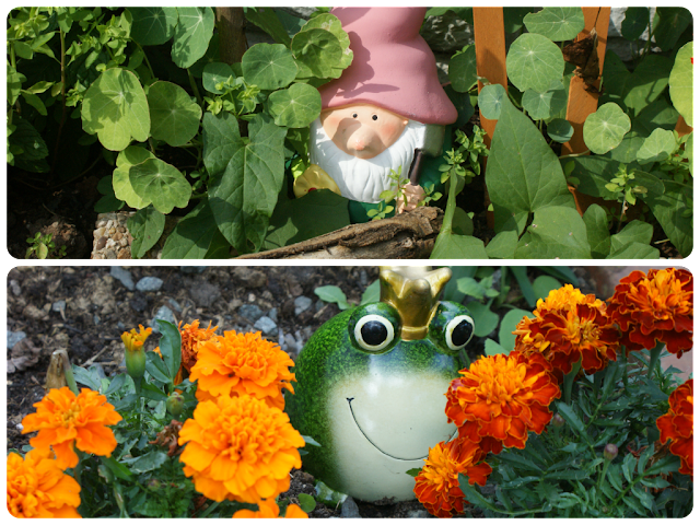 Summer Garden Gnome, Summer Garden Frog