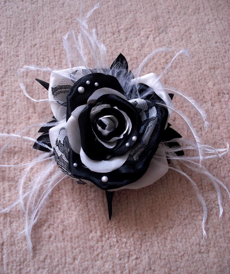Черная роза своими руками 77