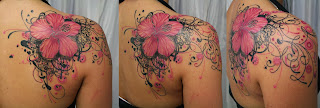 Pink Color Tattoos