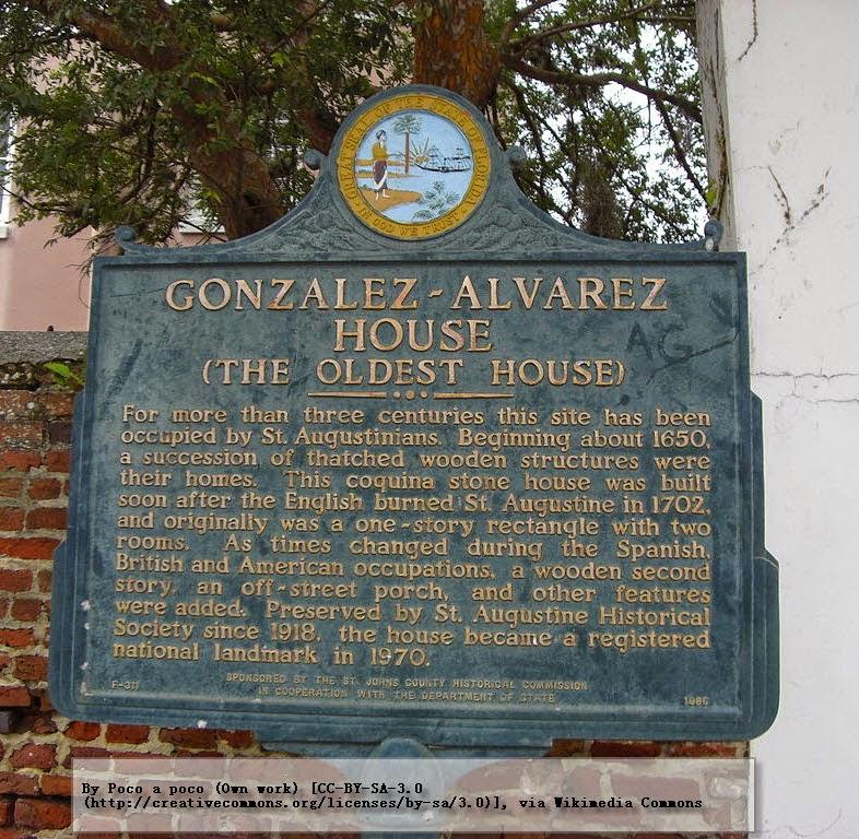"""""""La casa más antigua"""" de estilo colonial en Florida (EEUU)"""