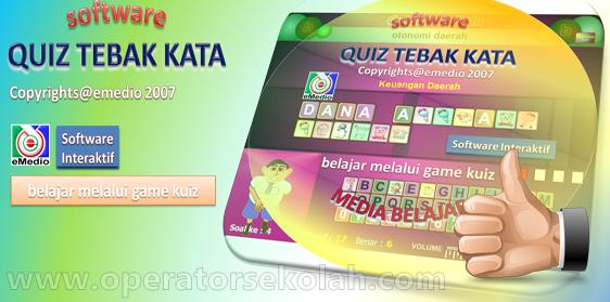 Download Media Pembelajaran Interaktif SD - Belajar Mengenal dan Membaca Bilangan+Software Quiz Tebak Kata