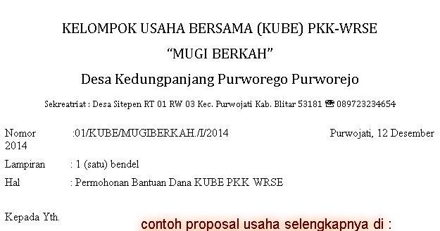 Contoh Proposal Seminar Kewirausahaan Pdf Niclivin