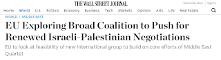 """Stop helping - EU now turns to the """"two state solution"""""""