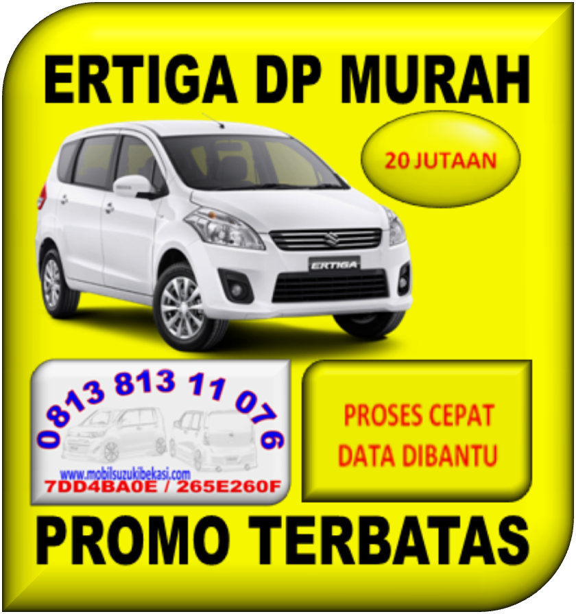 ERTIGA DP MURAH
