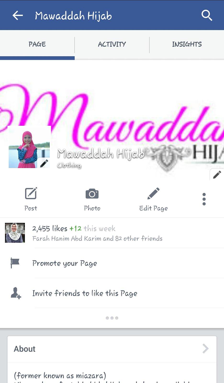 Mawaddah hijab fb