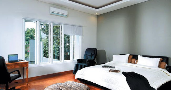 inspirasi interior dan eksterior rumah desain kamar tidur