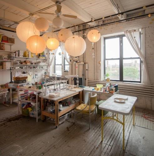 atelier de Susan Dwyer à Chicago