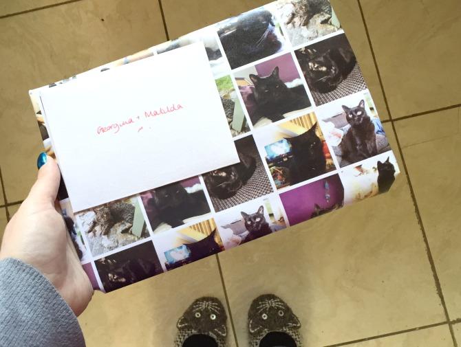 Matilda gift wrap