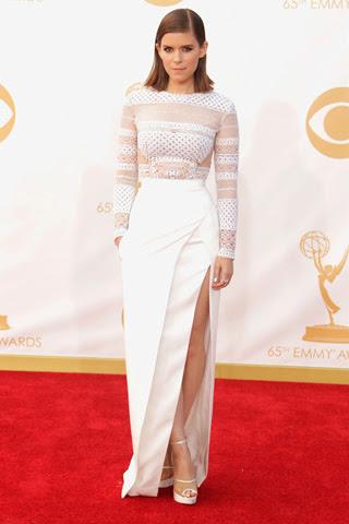 Kate Mara in J. Mendel 2013 Primetime Emmy's