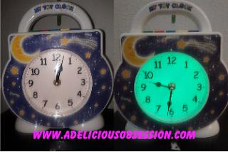 My Tot Clock Front Views