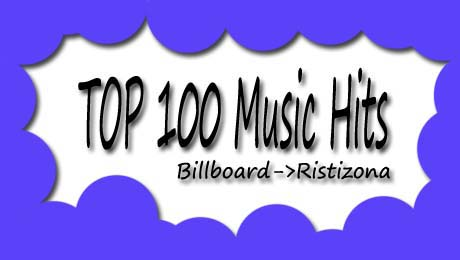 top 100 music hits, lagu baru barat