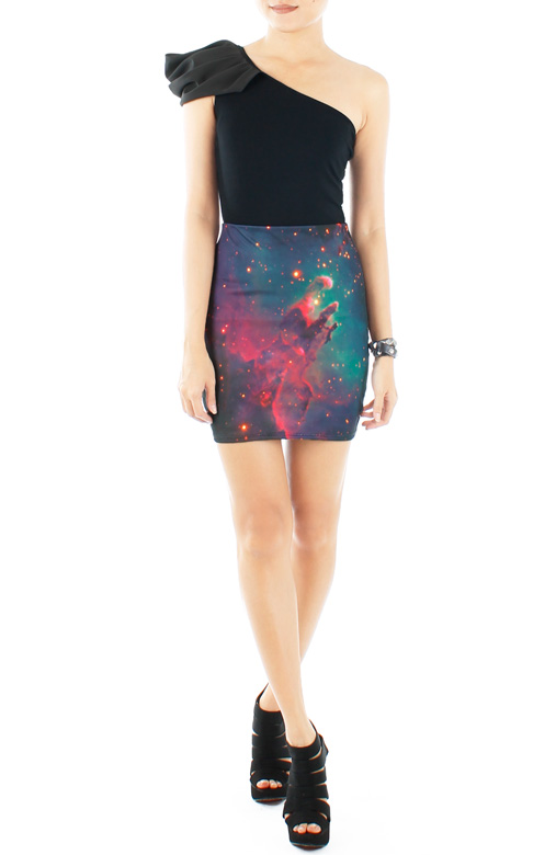 Cosmic Dream Mini Skirt