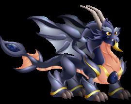 imagen del dragon espacial de dragon city