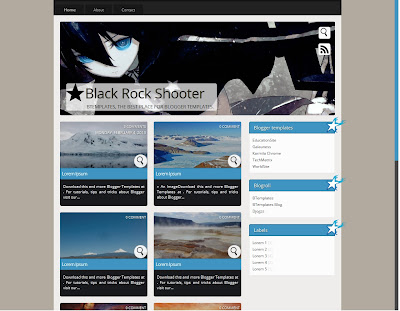 Download Template Black Rock Shooter