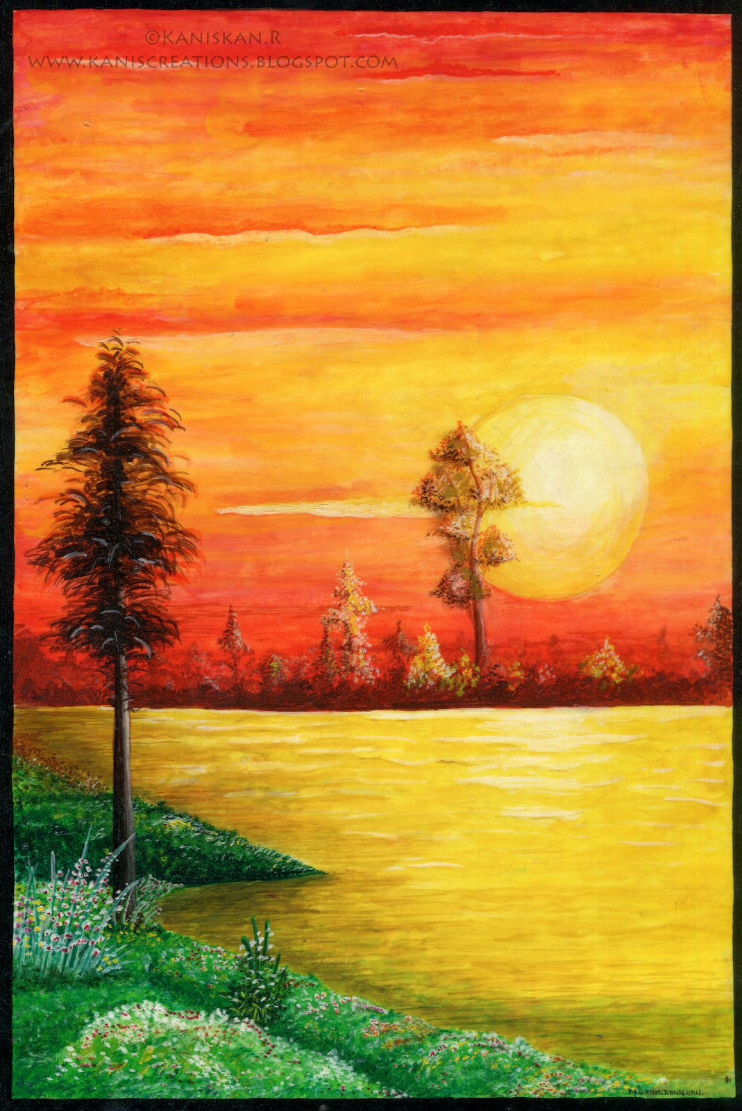 Paintings Scenery Pictures images